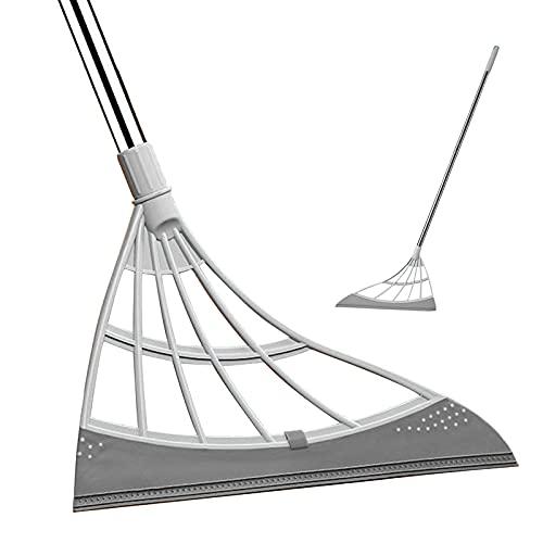 Multifunctional Magic Broom, Brush Broom, Magic Broom Sweeper Bathroom Wipers, Magic Hair Cleaning, and Wiper mop.