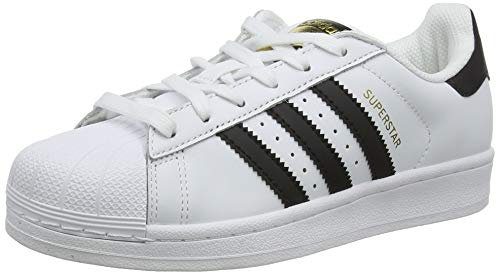 Adidas Originals Superstar Scarpe da Ginnastica Unisex - Adulto, Bianco (Ftwr White/Core Black/Ftwr White), 39 1/3 EU
