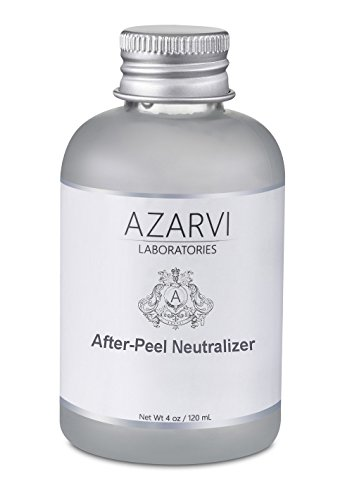 After Peel Neutralizer. Stops the Action of Chemical Peel. Soothe & Calm Irritated Skin. Contains Vitamin E, Aloe Vera, Chamomile, Green Tea. Large 4 oz Bottle