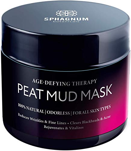 NEW Natural Anti Aging Face Mask - 100% Healing Peat Mud Therapy, Best For Soothing Wrinkles, Hydrating and Deep Cleansing Facial Moisturizer, Collagen Boosting Skin Care Solution For Men & Women, 5 oz