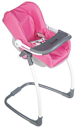 Smoby - 240227 - Bébé Confort -  Chaise Haute 3 en 1 - Chaise Haute Balancelle et Siège Auto
