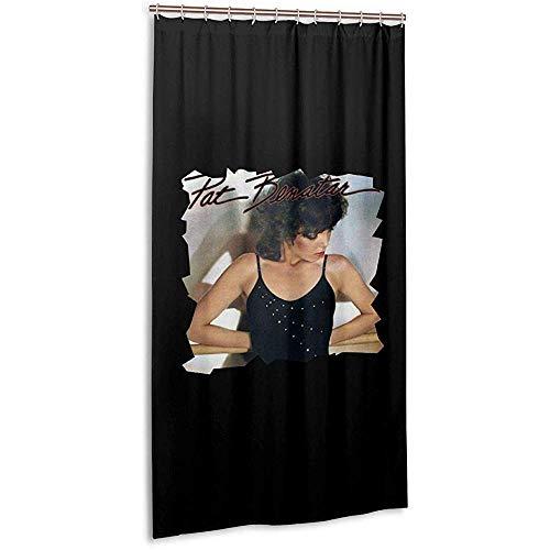 JobFine Shower Curtain Cortina De Ducha De 36X72Pulgadas-Pat Benatar Crimes of Passion Tela Cortina De Ducha O Lineres Tamaño De La Cabina De Baño Lavable SPA Baño Cortinas con Ganchos