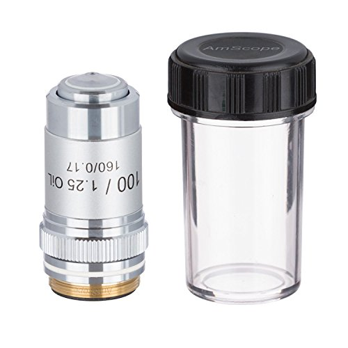 AmScope A100X 100X (Oil) Achromatic Microscope Objective