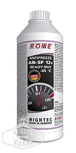 ROWE Hightec Antifreeze AN-SF 12+ READY-MIX -25 °C - 1,5 Liter PKW Kühler-Frostschutzmittel   Made in Germany