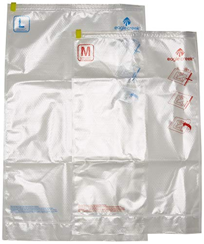 Eagle Creek Pack-it Compression Sac Set M/l Organizador para Maletas, 72 cm, 19 litros, Clear F/B