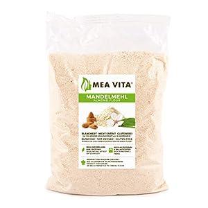 Meavita Harina De Almendras Natural, Blanqueada, En Bolsa, 1 Paquete (1 X 1000 g)