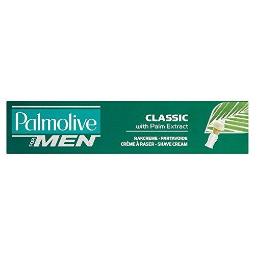Palmolive Crème à raser classique avec extrait de palme pour homme, 100 ml, lot de 24