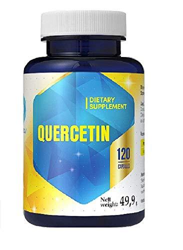 Quercetin 316 mg x 120 Kapseln 4 Monats Hochdosiert Antioxidans zur Ergänzung der Immungesundheit Vitamin