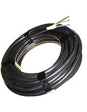 10 meter van 3 kern 2.5mm Hi Tuff NYY-J kabel voor binnen buiten ondergrondse gebruik