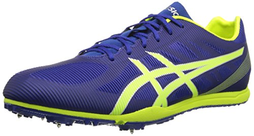 ASICS Men's Heat Chaser Track And Field Shoe,Deep Blue/Flash Yellow,11 M US -  ASICS America Corporation