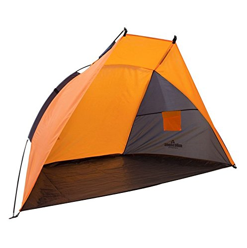 Milestone Camping Beach Garden And Fishing Shelter Includes Pegs - Orange