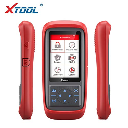 X100 PRO2 Auto Key Programmer OBD2 Car Diagnostic Code Scanner Tool with EEPROM Adapter Free Update