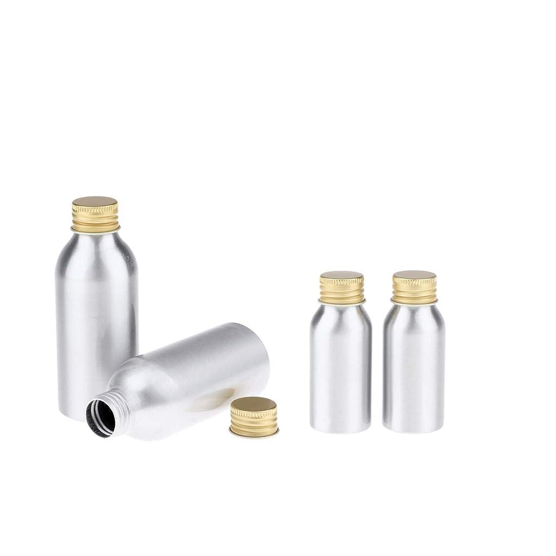 アシストおとうさんレールPerfeclan 全4点 アルミボトル 空のボトル 収納コンテナ 詰め替え容器