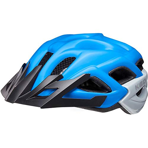 KED Status Helm Kinder Blue Black matt Kopfumfang M | 52-59cm 2021 Fahrradhelm