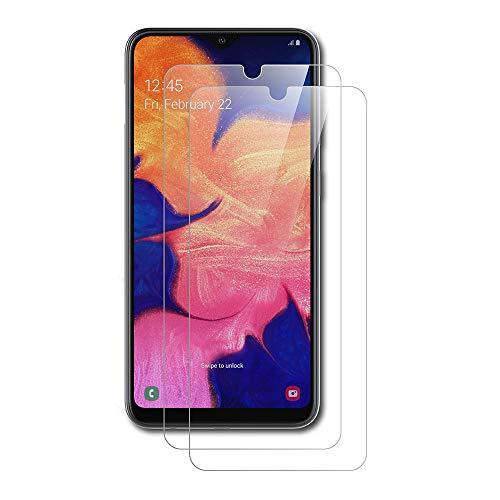 AICEK [2 Stück] Samsung Galaxy A10 Schutzfolie, Tempered Glass Displayschutzfolie für Samsung A10 Schutzglas Screen Protector Gehärtetem Glas Displayschutz Galaxy A10 Panzerglas (6,2 Zoll)
