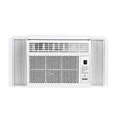 6, 000 BTU air conditioner for window-mounted installation uses standard 115V electrical outlet (Easy window mounting kit included) Quickly cools a room up to 250 sq. ft. with dehumidification up to 1. 6 pints per hour Digital controls, 3 cool speeds...