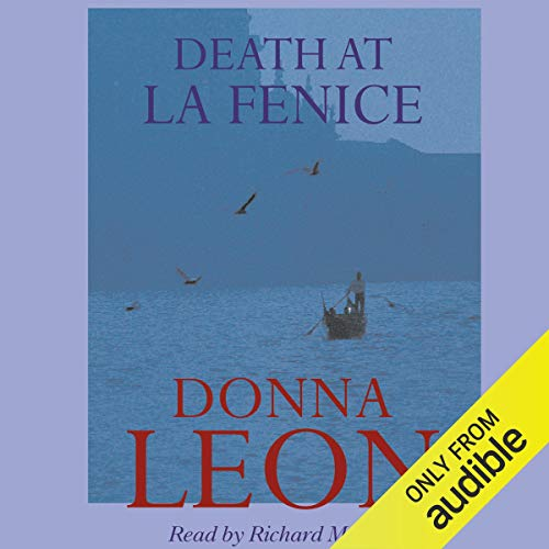 Death at La Fenice audiobook cover art