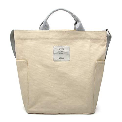 ZhengYue Bolso para mujer, bolso de la compra, bolso de mano, elegante, mochila escolar, para viajes, oficina, escuela, compras, uso diario, 33 x 28 x 13 cm