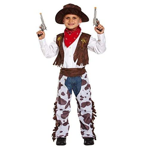 6bd166be8 Boys Kids Childrens Cowboy Wild West Sheriff Halloween Fancy Dress Costume  Outfit