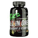ZEC+ ALL in ONE Antioxidantien & Vitamine - 120 Kapseln, Multivitamin-Präparat mit Kombination aus Vitaminen, Mineralstoffen, Spurenelementen und OPC-Traubenkernextrakt, Made in Germany