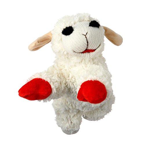 Multi Pet Lamb Chop Dog Toy, 10' [2-Pack]