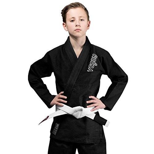 Venum Contender Kimono, Unisex Niños, Negro, C00/XS