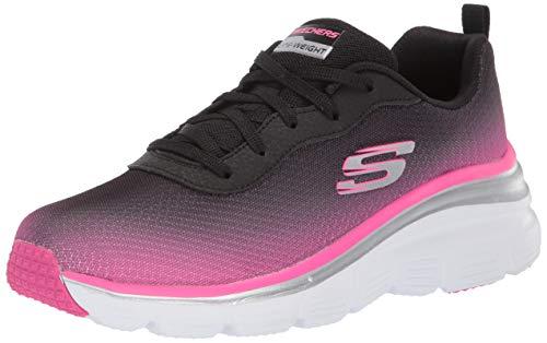 Skechers Donna Sneakers in Tessuto Nero 12717. Calzature Primavera-Estate 2019. Calzature con Memory Form. EU 39