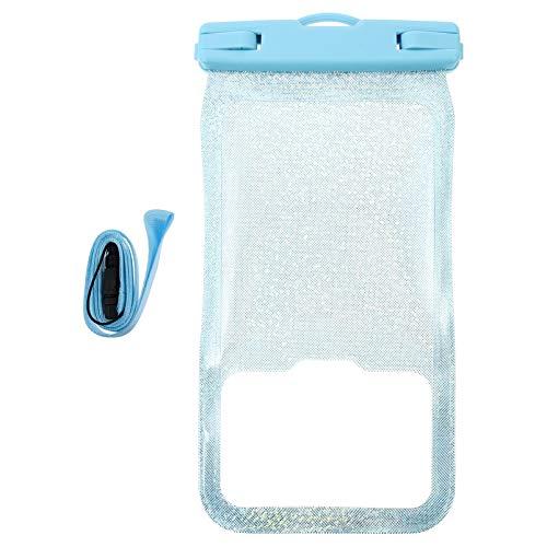 ibasenice 1 Pza Bolsa DE TELÉFONO MÓVIL Flotante Impermeable Bolsa de Teléfono para Parque Acuático