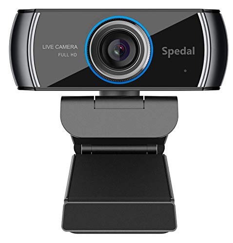 Webcam 1080P HD with Microphone:USB Webcam Plug and Play PC Camera for Streaming,Gaming,Laptop,Desktop, Web Cam for Skype,YouTube,Zoom,Facetime,Team,OBS,and Conferencing,Teaching,Calling,Recording