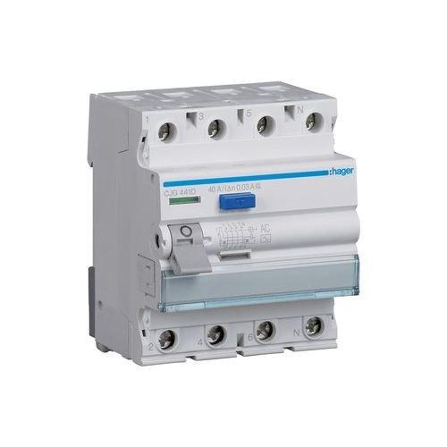 Preisvergleich Produktbild HAGER CJG441D FI-Schutzschalter 4P 40A 30mA AC G