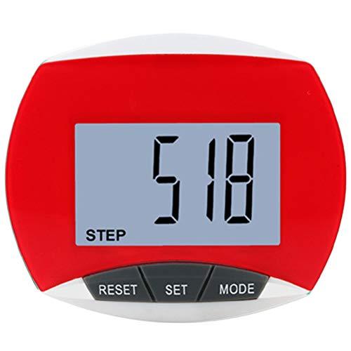 Schrittzähler - Leicht ablesbarer Fitnesstracker, Kalorien- und Aktivitätszeit, Clip-on-Schrittzähler für Männer, Frauen und Kinder| Schrittzaehler ohne app und Handy