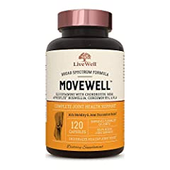 Joint Relief | MoveWell features clinically-proven ingredients designed to help improve overall joint health, mobility and flexibility courtesy the powerful compounds they need. Glucosamine & Chondroitin | These two all-star ingredients are famous wo...