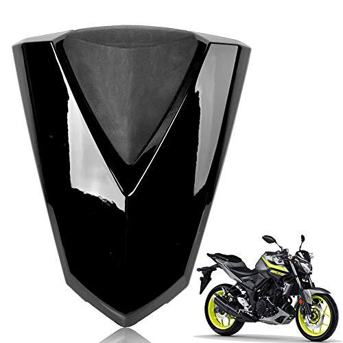 YOUFUDE Moto ABS Plastica Posteriore Coprisella Passeggero Sellino Carenatura del Sedile Posteriore Coprivaso Carenatura Calotta Accessori Moto Adatto per Y&amaha MT-03 2016 2017-2020,Nero