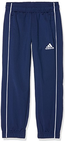 adidas Kinder Core 18 Trainingshose, Blau (Dark Blue), 128
