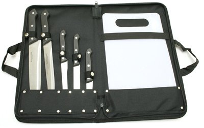 Winchester 6pc Kitchen Cutlery and Camping Knives with Case