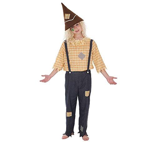 Creaciones Llopis Disfraz de Espantapájaros para niño