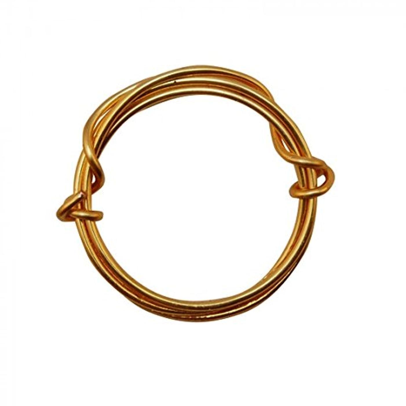 Vaessen Creative Copper Wire, Metal, Gold, One Size