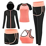 ZETIY Women's Activewear Set 5 P...