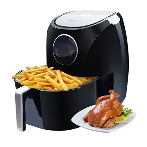 Friteuse à air Friteuse Intelligente de Machine de Frites Intelligente de ménage de friteuse du ménage 3.2L de Grande capacité sans Huile du ménage 3.2L de capacité Commodité