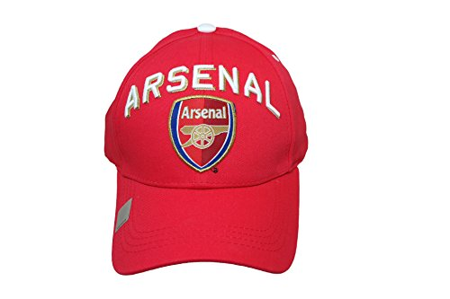 RHINOXGROUP Arsenal F.C. Authentic Official Licensed Soccer Cap (Medium, Arsenal 1)