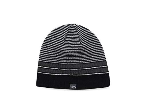 Callaway Winter Chill Beanie Gorro de Punto, Negro (Negro/Plata 5219144), One Size...