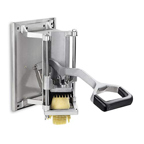 """New Star Foodservice 7006872 Extra Heavy Duty French Fry Cutter 3/8"""" with Wall Bracket, Fixed Counter or Wall Mount"""