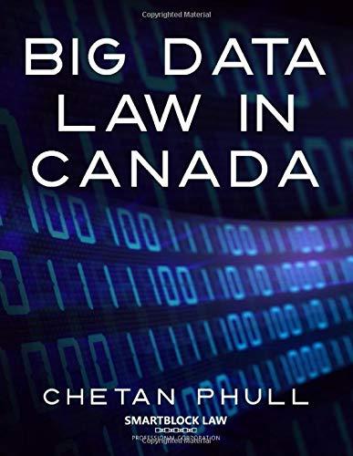 [画像:Big Data Law in Canada]