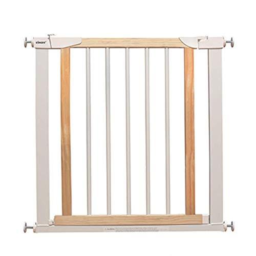 Parc à bébé, En bois blanc bébé porte for portes Extension Safety 1st pression Fit rétractable chatière for un escalier intérieur Toy (Size : 124-131cm)