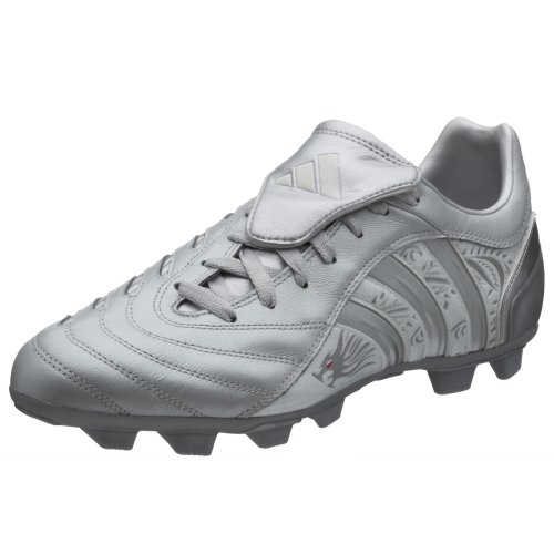 adidas Pulsado II TRX FG Fussball Stollen Schuh, Größe UK 46 (UK 11), Silber