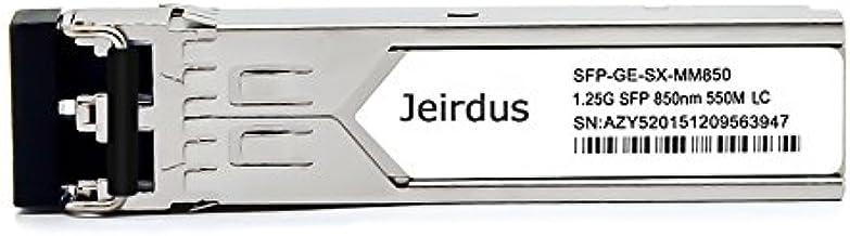 Jeirdus for Netgear AGM731F, 1.25Gb/s SFP Transceiver, MMF, 850nm, 550m