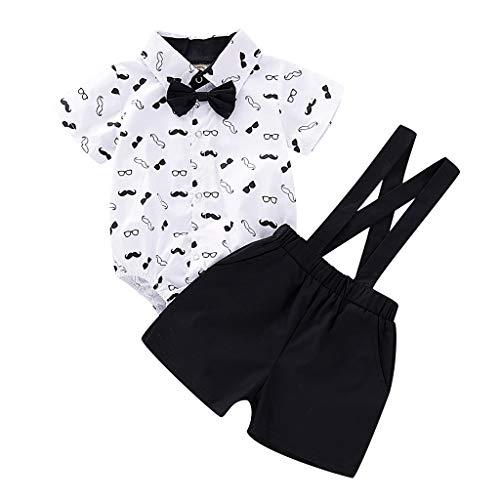 Julhold Infant - Pijama para bebé (algodón, para 0-2 años) Blanco 6-12 Meses