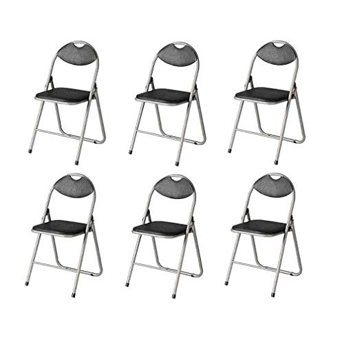 LLSS chair Black Padded, Folding, Desk Conference Office Chair,Backrest Chair Environmental rating