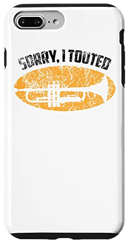 iPhone 7 Plus/8 Plus Sorry I Tooted Trumpet Player - Jazz Music Gift Tee Case