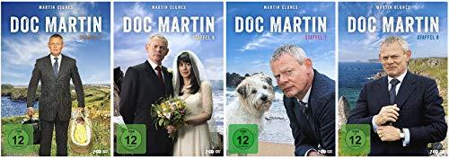Doc Martin - Staffel 5-8 (5+6+7+8) im Set - Deutsche Originalware [8 DVDs]